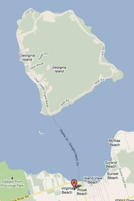 Gerogina Island Lake Simcoe